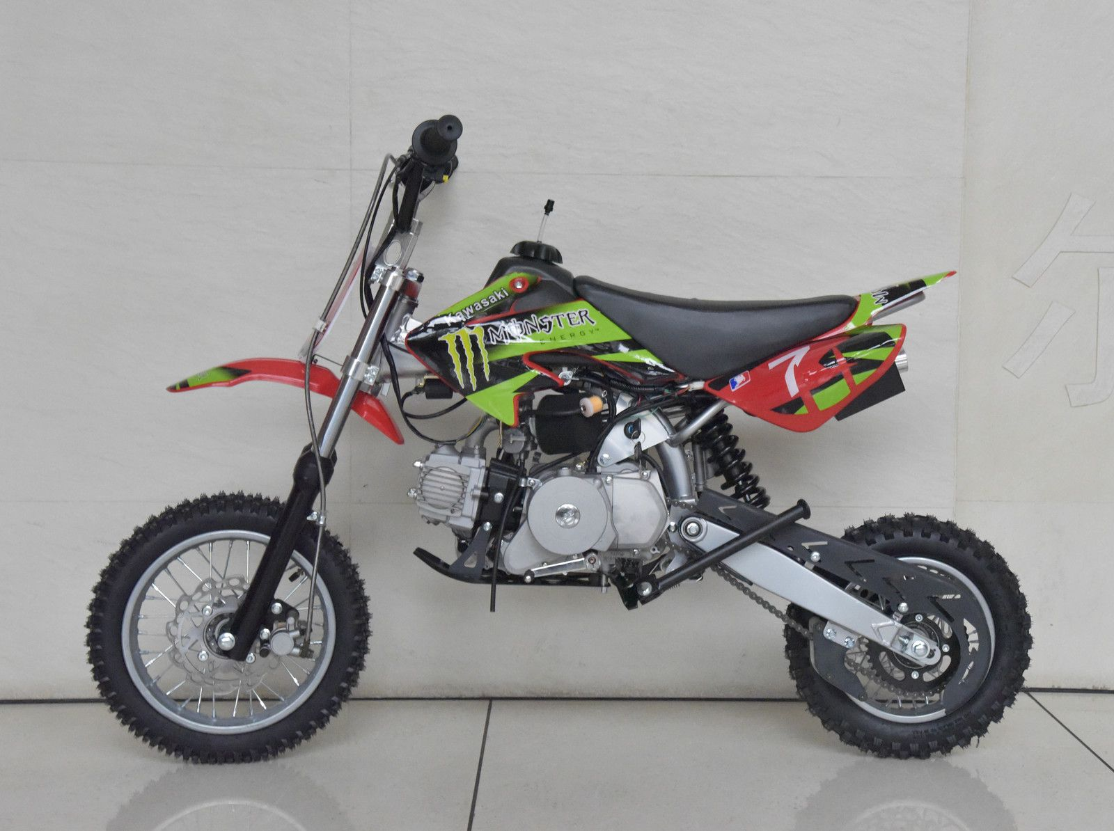 New 90cc Semi Automatic Dirt Bike For Sale Cheap Freight