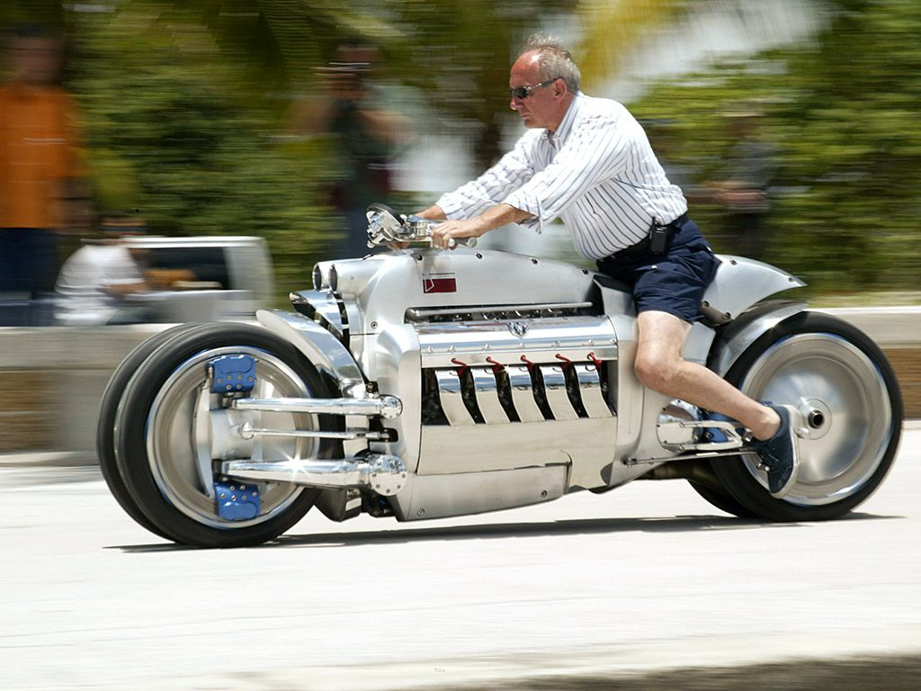 500 Hp Dodge Tomahawk 0 60 In 2 5 And Tops Out At 420 Mph Dodge