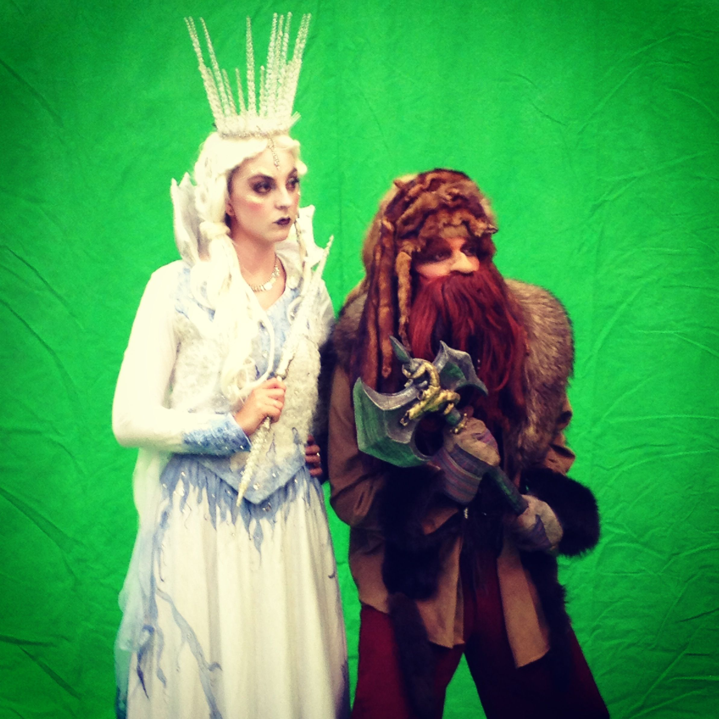 White witch and sidekick dwarf. #narnia | Narnia | Pinterest ...