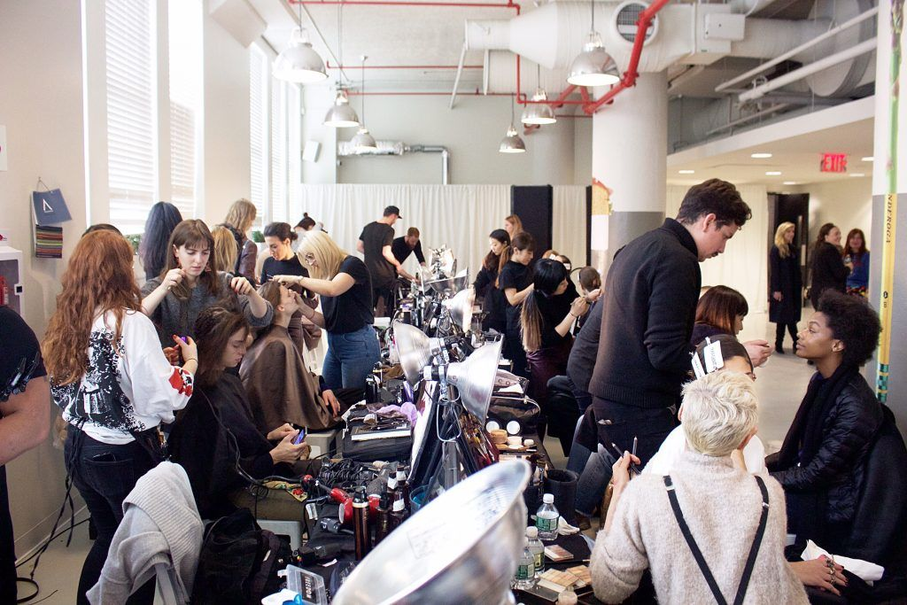 NYFW: Backstage at Ryan Roche