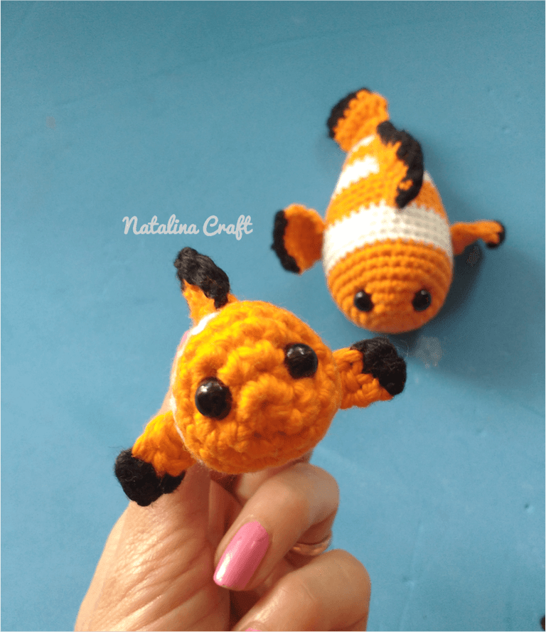 Free crochet pattern clownfish. Baby clownfish: Quick and easy ...