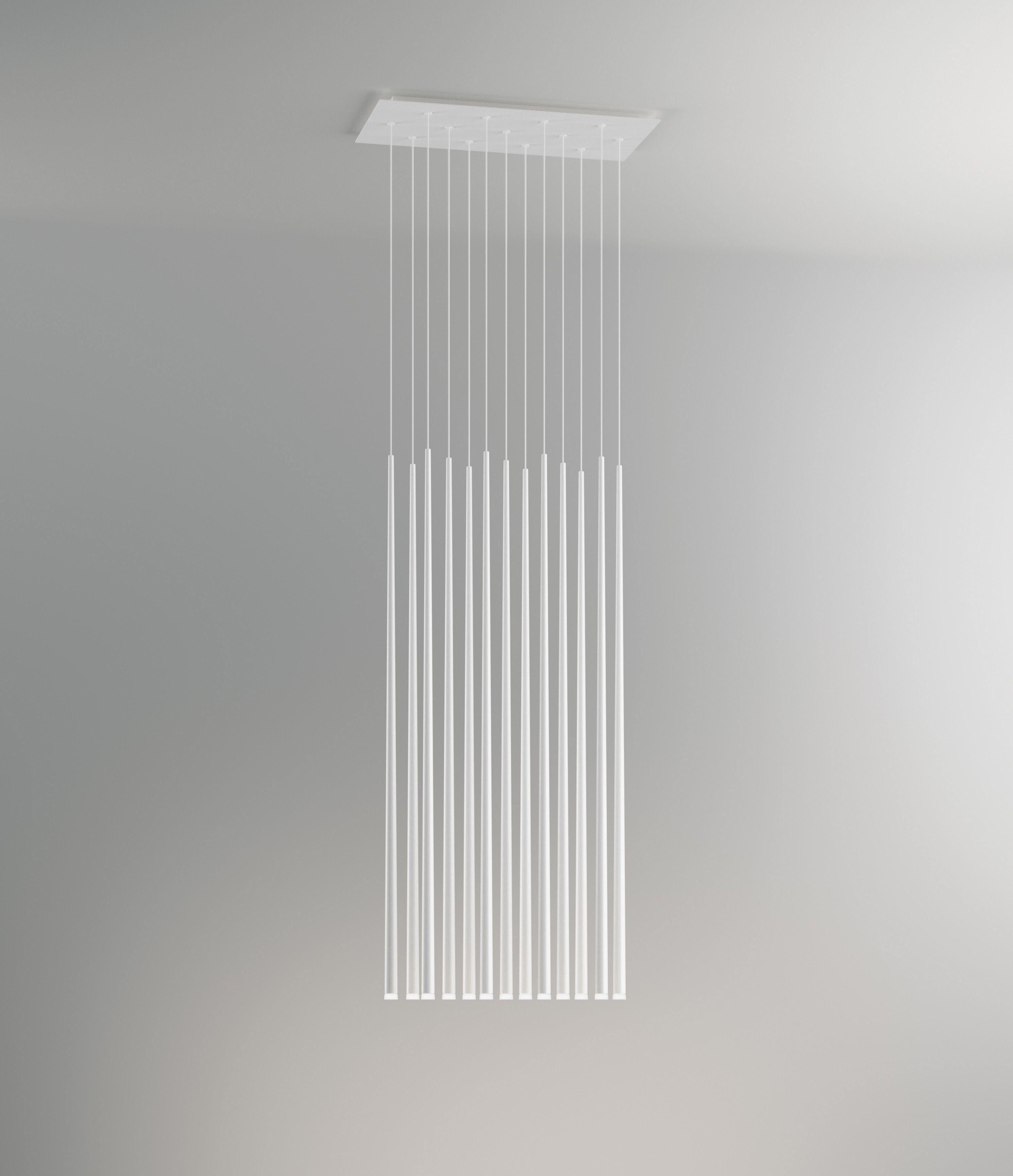 Vibia Slim 0937 Fiber weiß lackiert