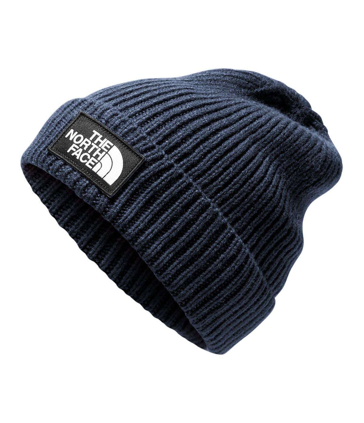 b5d76f89e The North Face Men's TNF Logo Box Cuffed Beanie Hat in 2019 ...