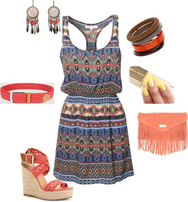 Tribal, created by lor126 on Polyvore