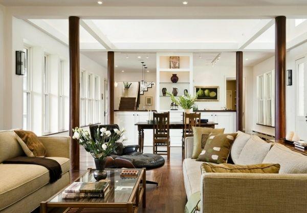 des colonnes design pour une maison de style colonne int rieure pinterest maison maison. Black Bedroom Furniture Sets. Home Design Ideas