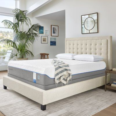 Tempur Pedic Breeze Supreme Memory Foam 11 5 Quot Plush Mattress Mattress Size California King