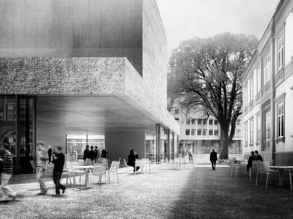 Wettbewerb Für Theatersanierung: Pin De AVDR Avistaderender En Renders De Arquitectura
