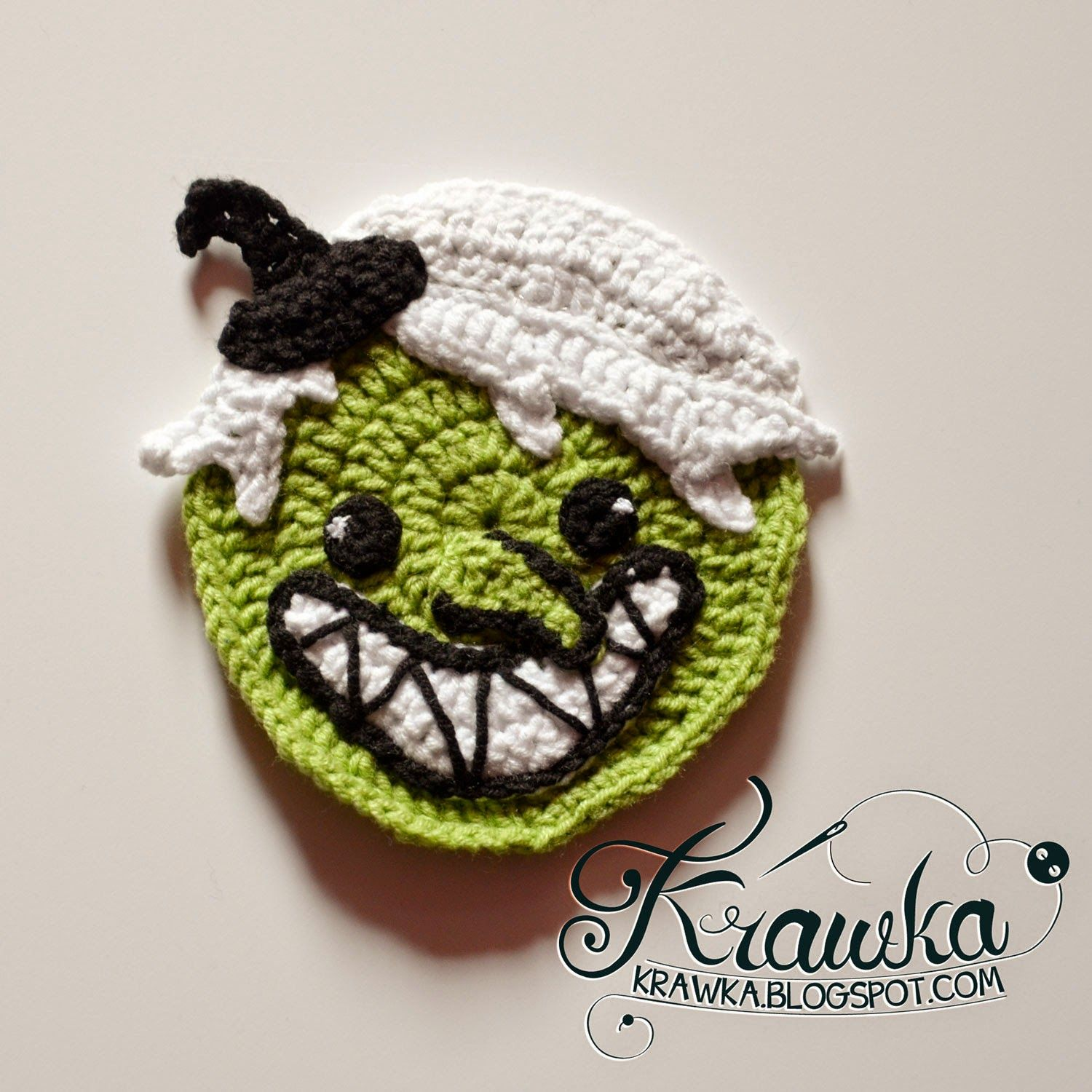 Halloween Coasters - Wicked Witch pattern | Crochet It -- HH Items ...