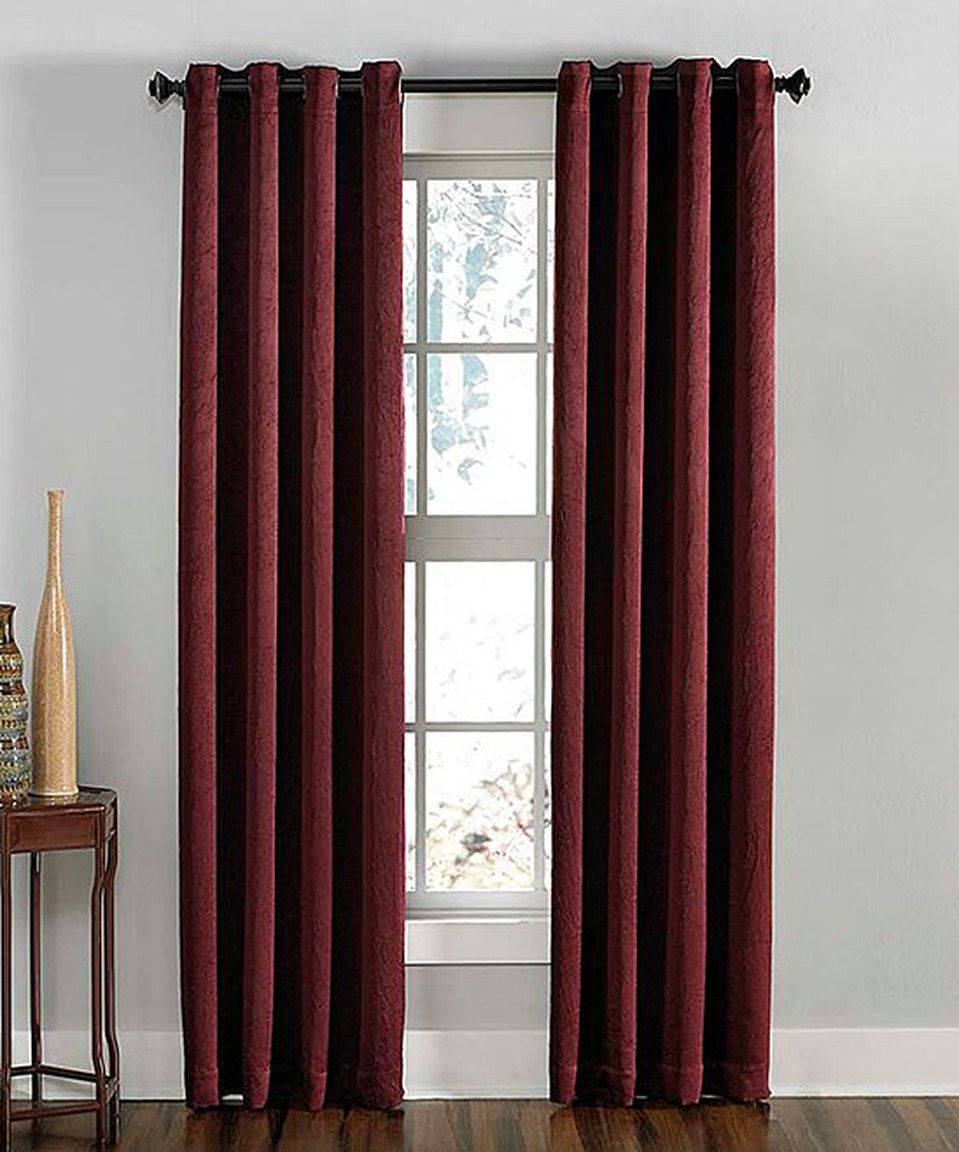 Love This Wine Lenox Blackout Curtain Panel By CHF Industries On Zulily Zulilyfinds