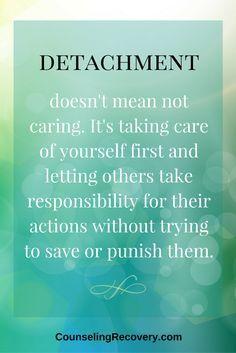 Detachment for Surviving Addiction — Counseling Recovery, Michelle Farris, LMFT