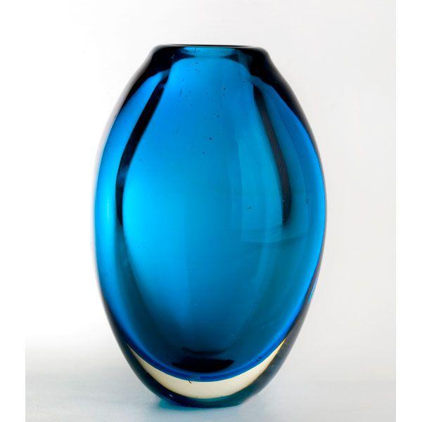 jarrn de cristal de murano italia aos 50 - Jarrones De Cristal
