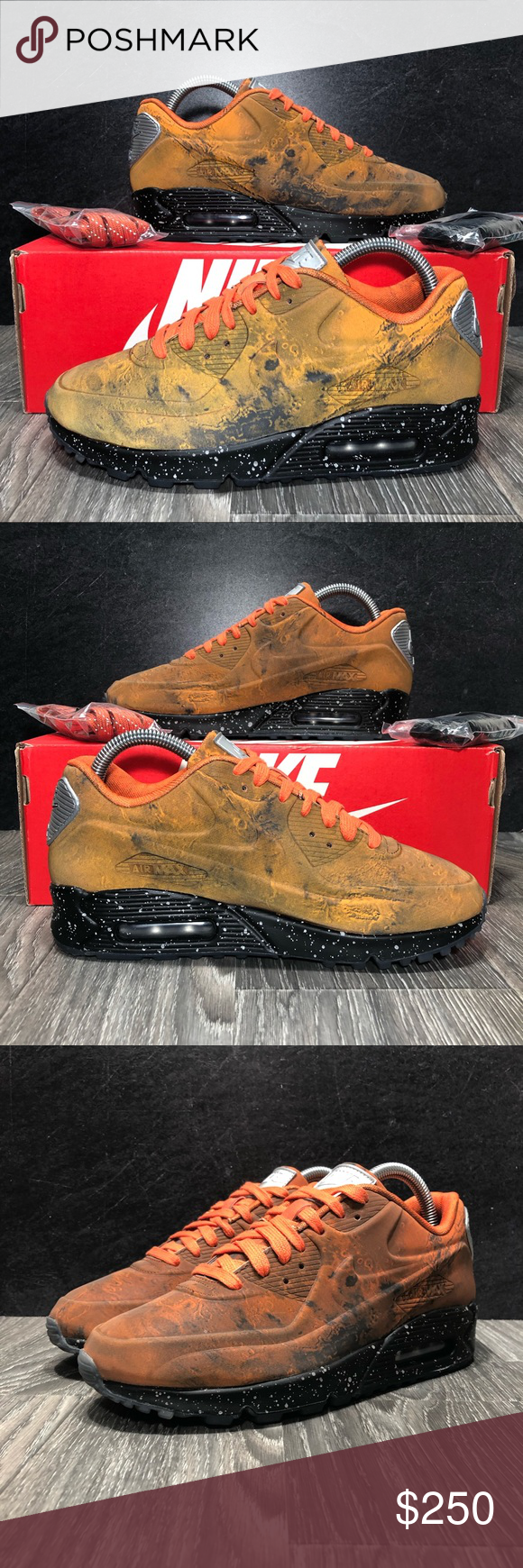Nike Air Max 90 Mars Landing Qs Womens Size 7 5 Nwt With Images Nike Air Max 90 Air Max 90 Nike Air Max
