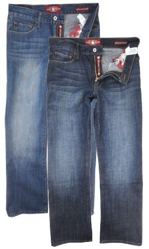 Lucky Brand Men S 181 Relaxed Fit Straight Leg Jeans Mens Clothing Styles Mens Outfits Mens Jeans