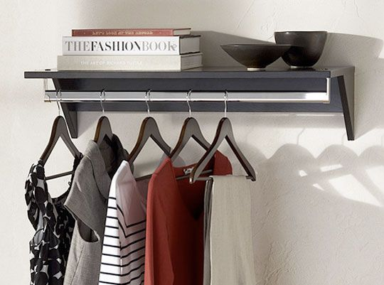 1000+ images about Nyc Apartment livin on Pinterest | Studio living, Wall  mounted shelf - Wall Mounted Clothing Rack Roselawnlutheran