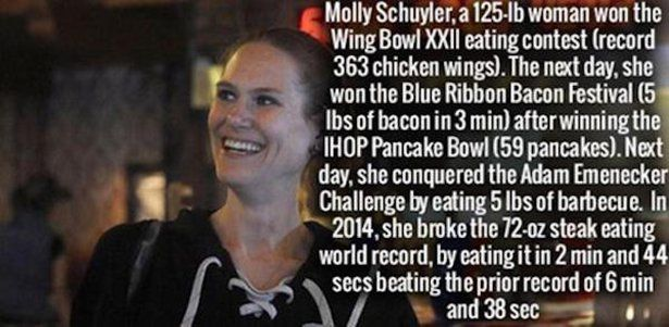 Talk about the munchies! Damn this girl can eat!