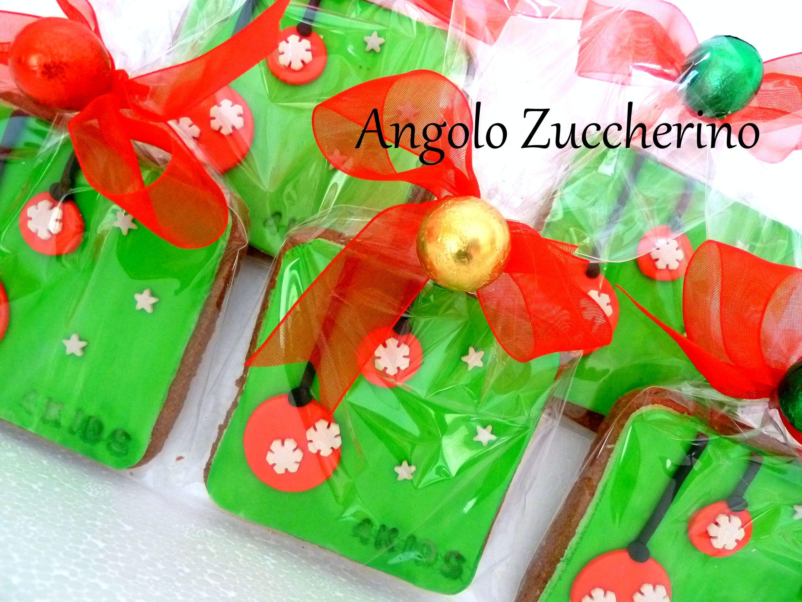 Biscotti decorati per Natale, idea regalo | Dolci idee ...