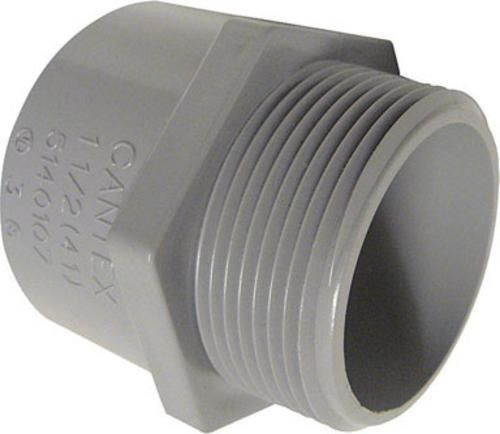 Cantex 5140107c Pvc Male Terminal Adapter 1 1 2 Pvc Conduit Electrical Fittings Things To Sell