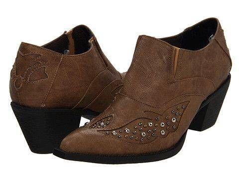 #Roper Vintage Studded Shoe Boot