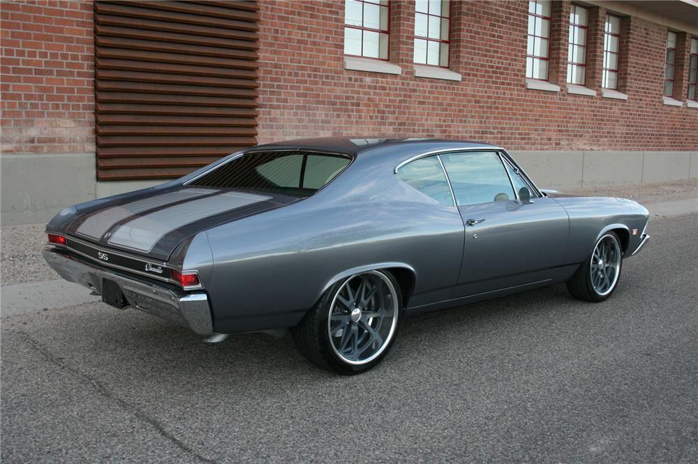 1968 chevelle colors  BarrettJackson Lot 13222  1968