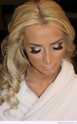 Sweet Bride Makeup Idea For Blonde Hair Makeup For Blondes