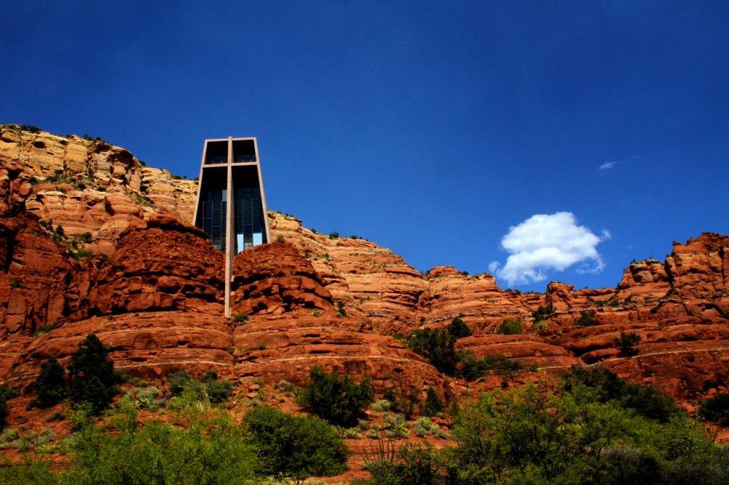 La Capilla De La Santa Cruz (Chapel Of The Holy Cross) Es Una Capilla · Sedona  ArizonaHoly ...
