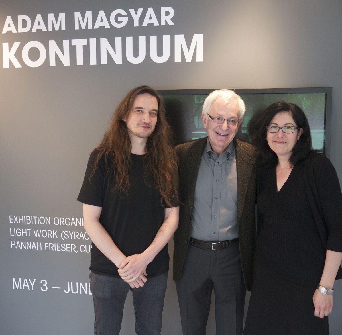 Adam Magyar, Frazier King, and Hannah Frieser at Houston