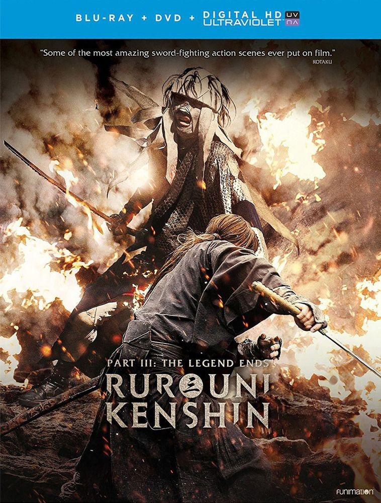 Rurouni Kenshin: The Legend Ends [Blu-ray] [2 Discs] [2014] #bluray