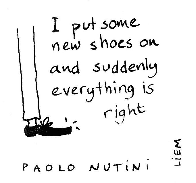 New shoes on lyrics