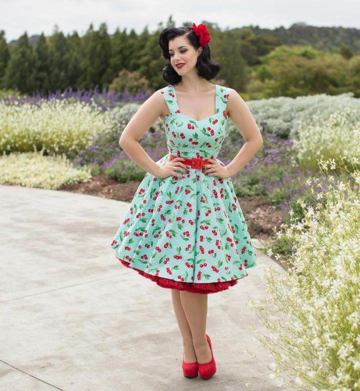 Rockabilly Kleider - Outfits im Stil der 50er Jahre ...
