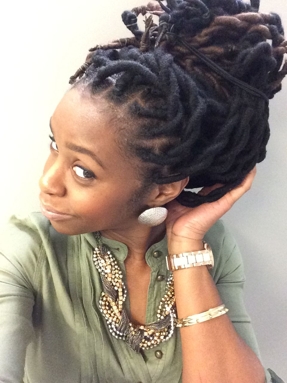 Prime 1000 Images About Faux Locs Twists And Braids On Pinterest Short Hairstyles Gunalazisus