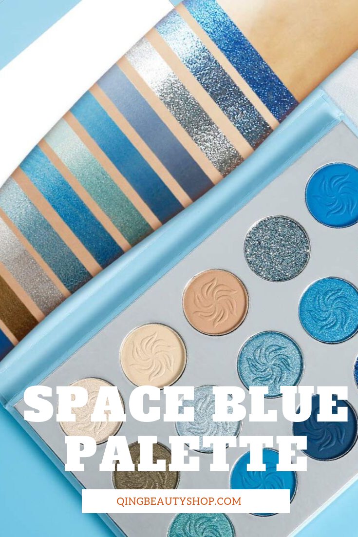 Space Blue Palette Free beauty products, Wow products