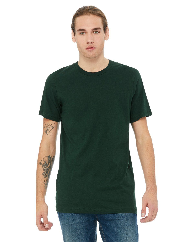 bd9009922020 Bella + Canvas Unisex Jersey Short Sleeve T-Shirt 3001C Forest in ...