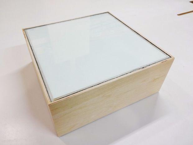 How To Make An Led Light Box Light Box Diy Led Light Box Led Lights