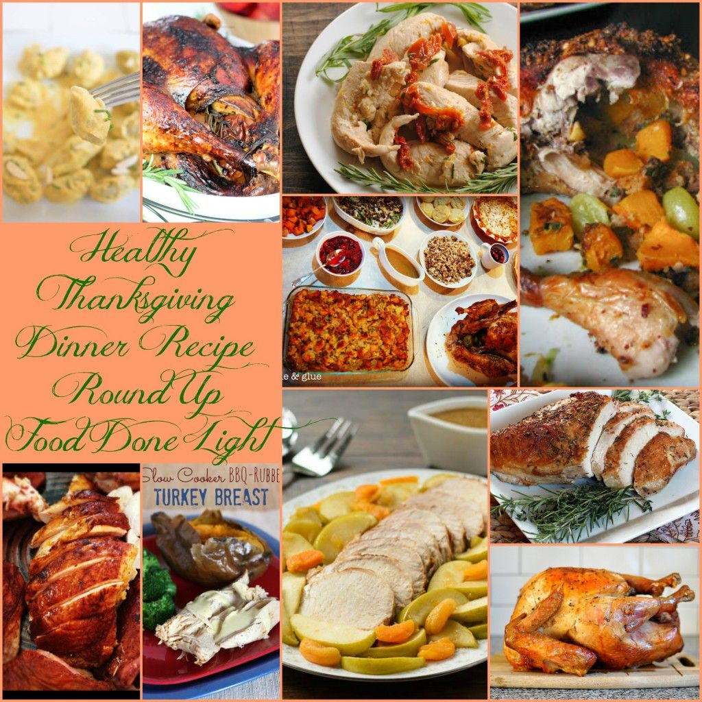 Healthy Thanksgiving Turkey And Beyond Recipe Round Up