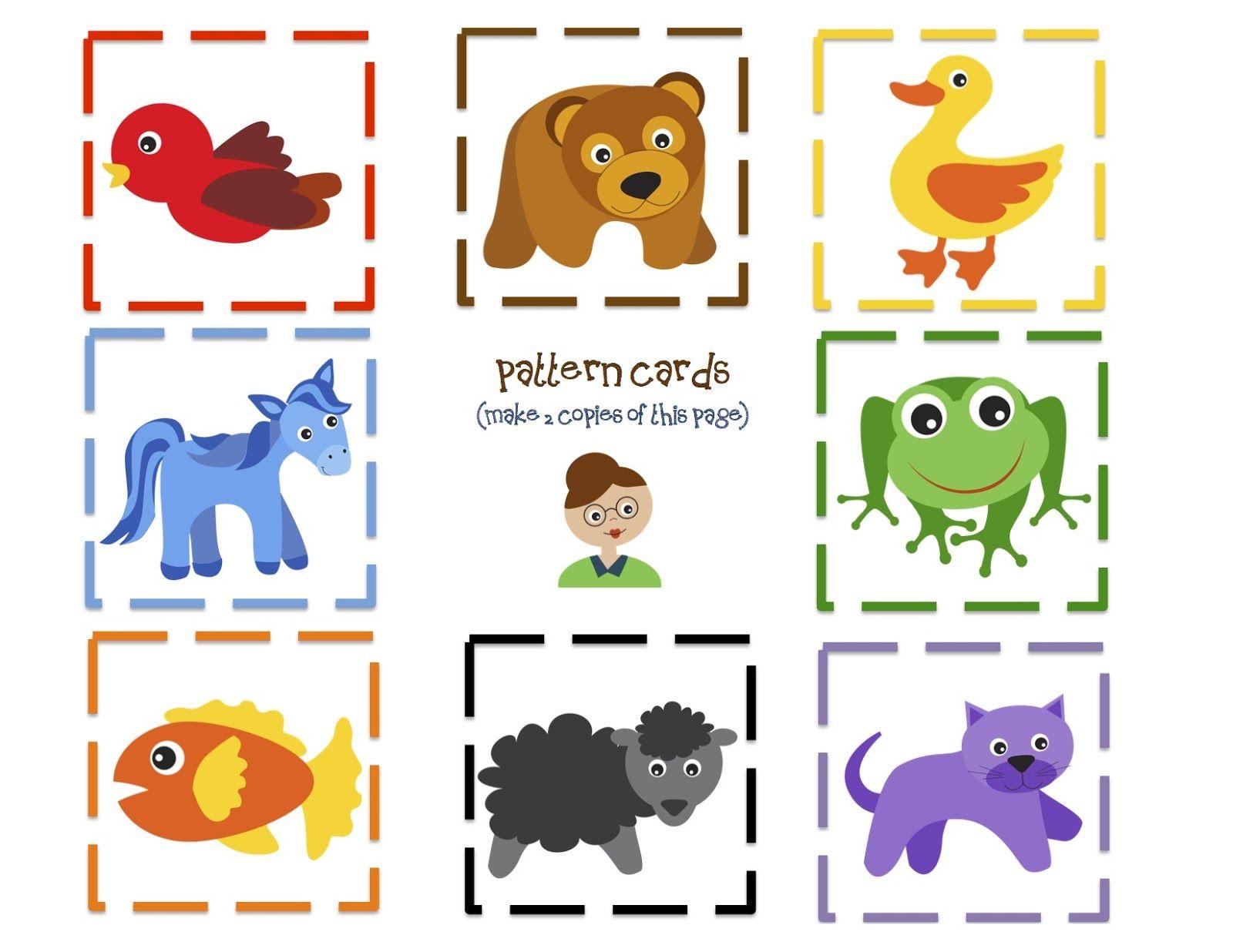 Learning colors for toddlers printables - Preschool Printables Brown Bear Fun Printable