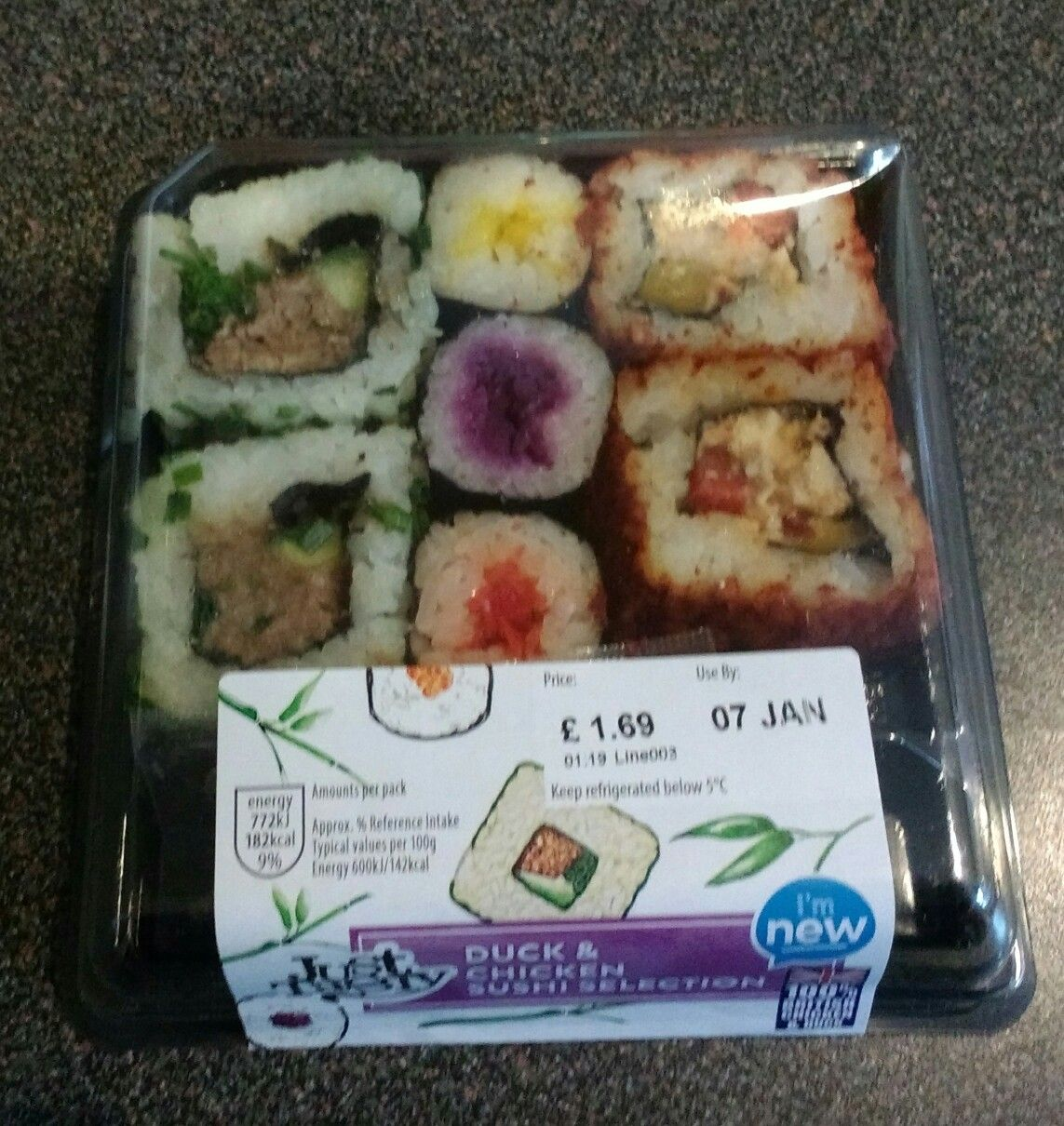 Aldi Duck And Chicken Sushi Only One Syn A Box Food Drink