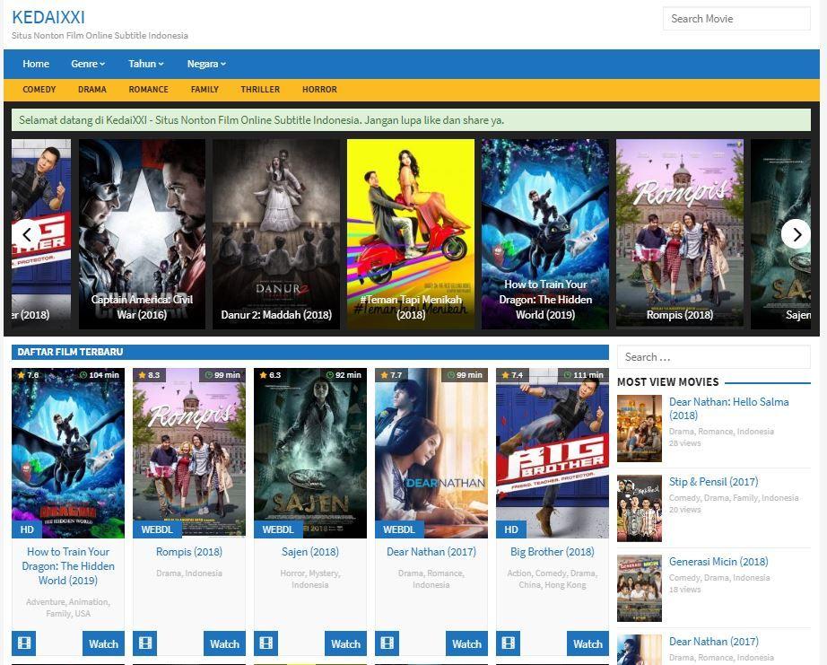 Kedaixxi Cinema 21 Movies Online Film