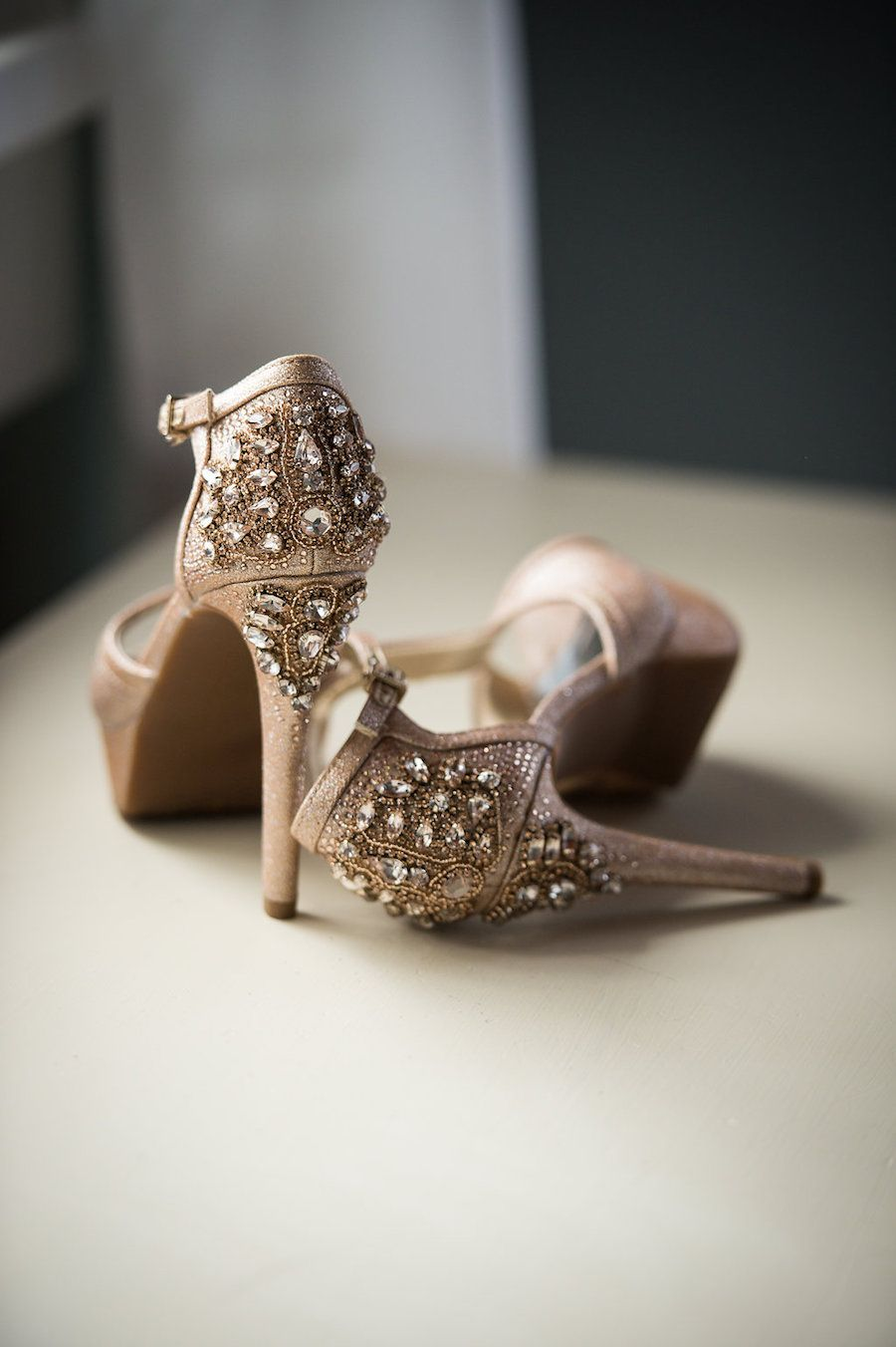 ce1ac6cd4245 Glamorous Wedding Shoes - Bethany Walter Photography
