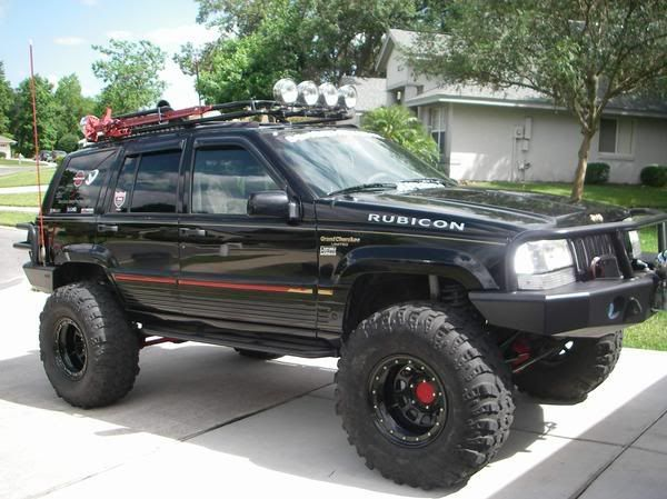 Lifted Zj S And Wj S Picture Thread Jeep Zj Jeep Grand