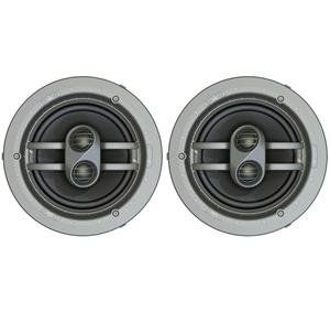 Niles Cm7fx Pr 2 Way Ceiling Mount Surround Speakers By Niles 314 95 Designer Aesthetics Magnetically Attached Microthintm Speaker Grilles Ensure A Clean