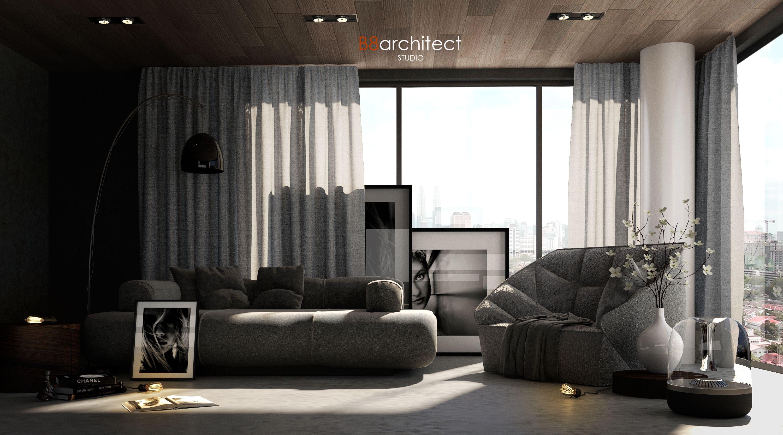 49. Living Area Free Sketchup Interior Scene Interior