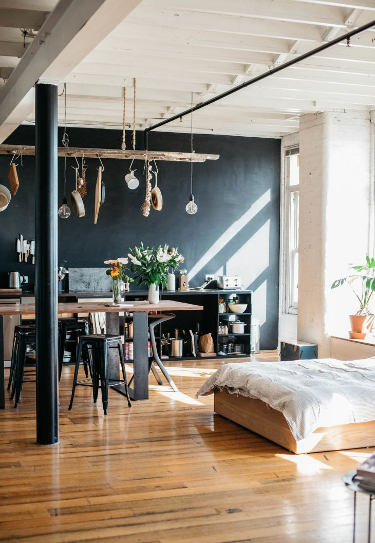 Light filled loft apartment photos by Bobby
