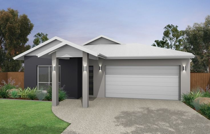 Exterior Colour Schemes With White Roof House Paint Exterior Facade House Rendered Houses