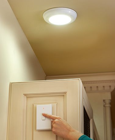 Wireless Led Light With Switch Wireless Lighting Ceilings Closet Lighting Wireless Lighting Diy