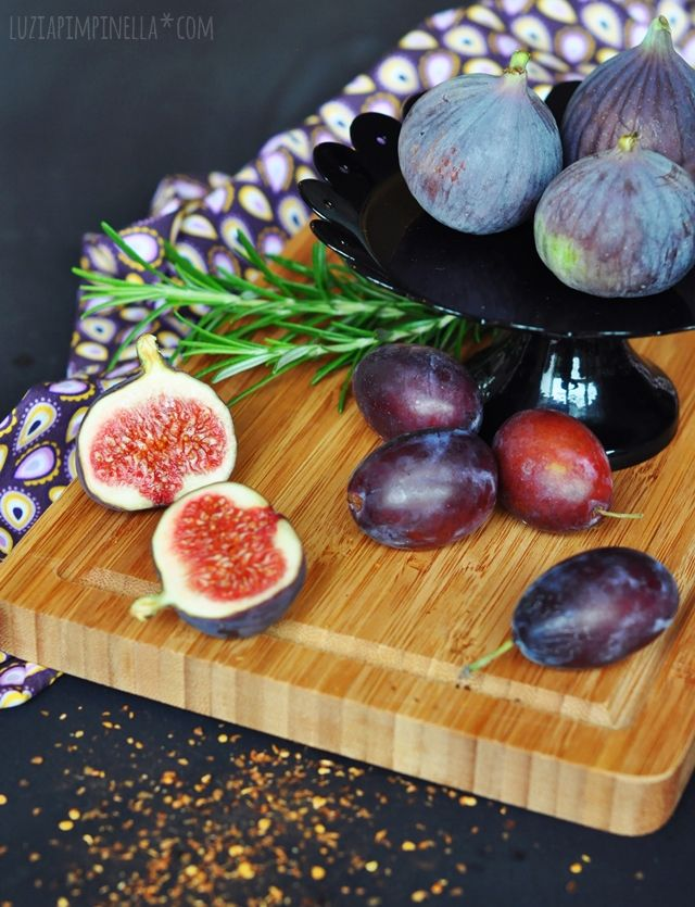 luza pimpinella | recipe: plum & fig jam with rosemary & chili