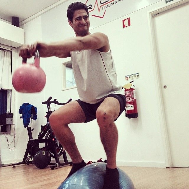 Bosu Ball Hiit: BOSU Fitness With Kettlebell