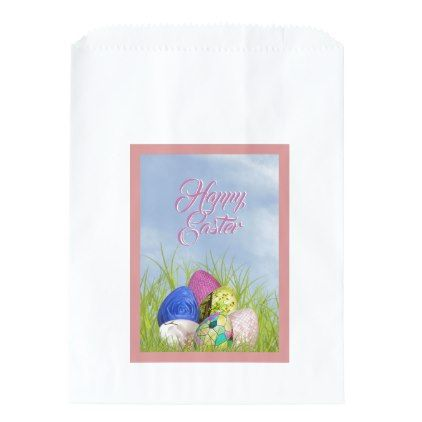Happy easter floral photography easter eggs favor bag initial happy easter floral photography easter eggs favor bag initial gift idea style unique special negle Choice Image