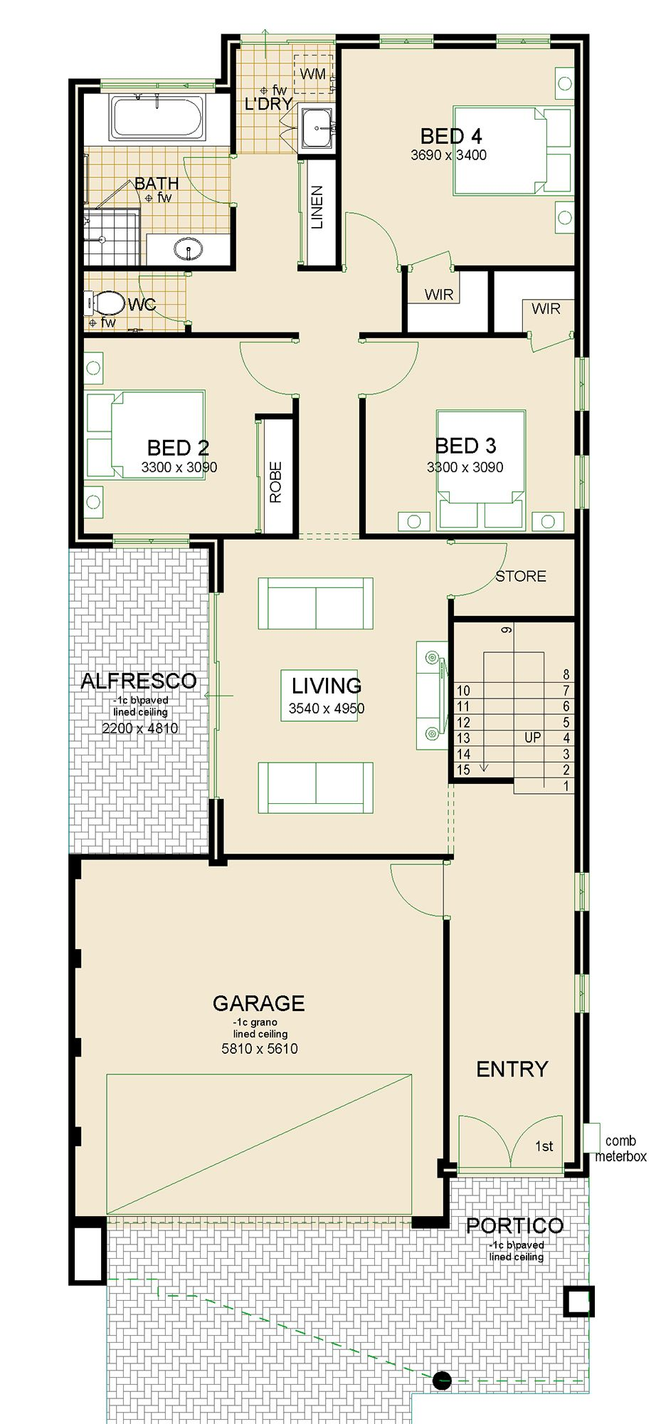 Virage house plan sample | Home designs | Pinterest | Bath, Modern ...