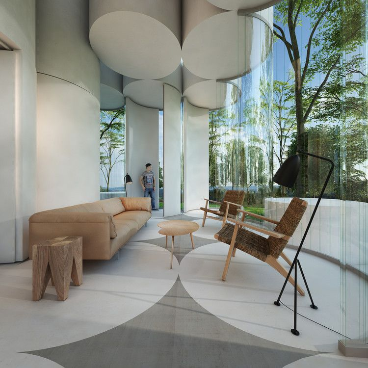 House Cylinder / Town and Concrete Pinterest Concrete, Interiors