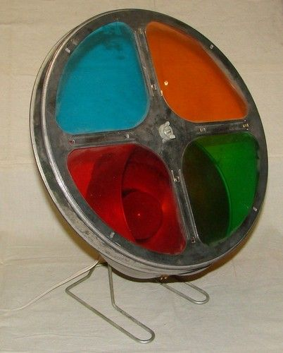 Vintage Aluminum Christmas Tree Color Wheel Ebay Nostalgia